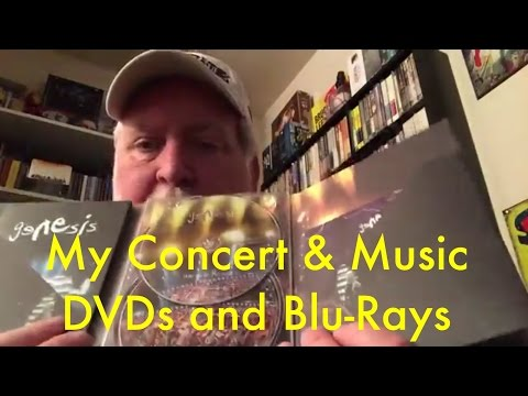 Concert and Music DVDS and Blu-Rays