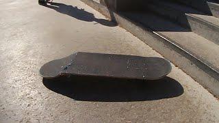 TREFLIP BOARD SNAP    WORST BOARD AT THE PARK