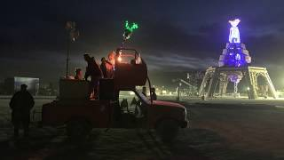 Burning Man 2019 :: Man Pavilion Build