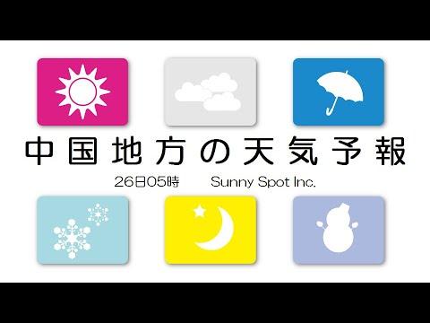 中国 週間天気予報