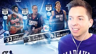 MY BEST DIAMOND PULLS EVERRR!! NBA 2K17 PACK OPENING