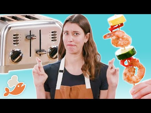Can This Chef Cook A 3-Course Meal With A Toaster? • Tasty