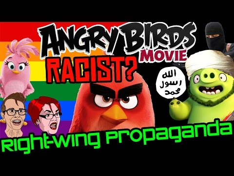 Is The Angry Birds Movie Racist Right Wing Propaganda?   Gnoggin