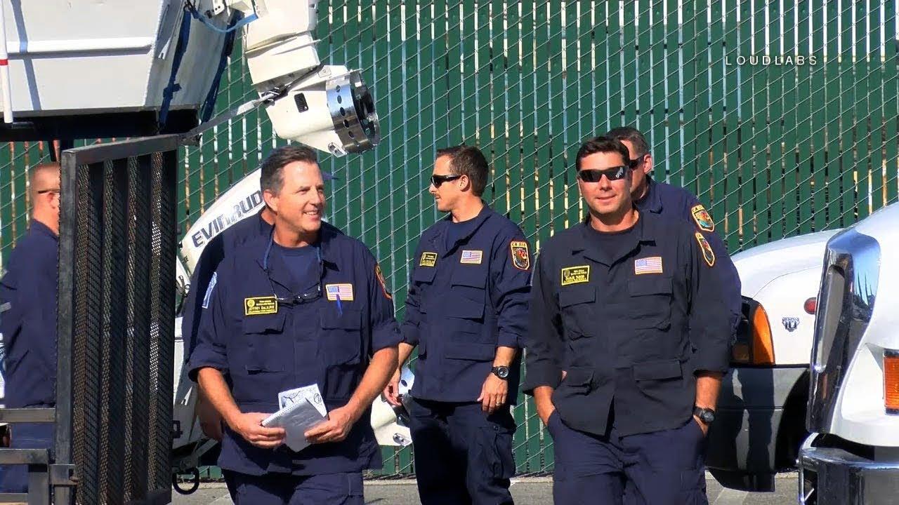 usar california task force 6 returns from houston