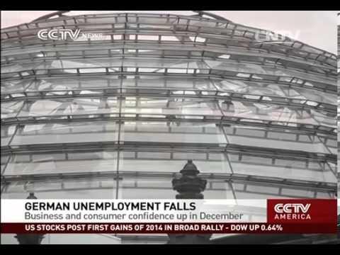 German unemployment rate falls in Dec.
