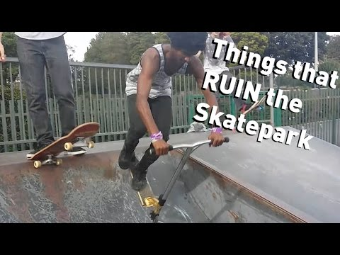 People that Ruin the Skatepark