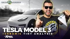 BEST way to TINT a Tesla Model 3 with Ceramic Tint (FULL ANALYSIS) | Houston, TX