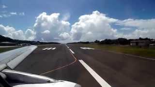 Take Off San Andres Island - Gustavo Rojas Pinilla Intl Airport ADZ