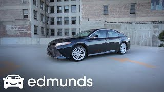 2018 Toyota Camry Sedan Pricing Features Ratings And Reviews Edmunds