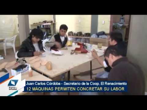 Una cooperativa creó una fábrica de alpargatas en San Pedro de Colalao , Gobierno de Tucumán