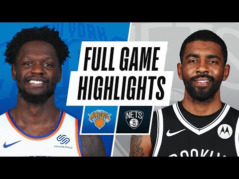 KNICKS at NETS | FULL GAME HIGHLIGHTS | April 5, 2021