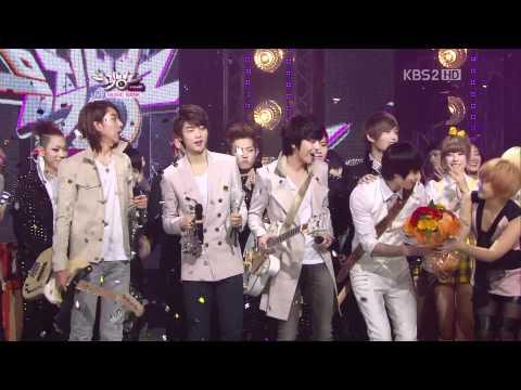 110415 - KBS Music Bank CNBLUE - Winne