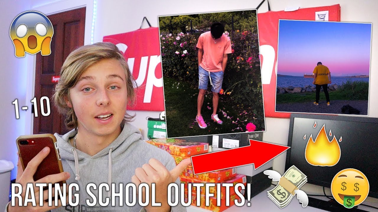 [VIDEO] - RATING SUBSCRIBERS HYPEBEAST OUTFITS! // School Edition 5