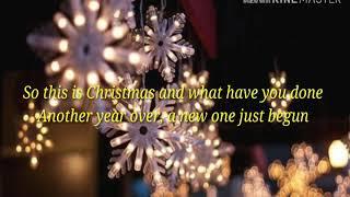 Lagu Natal (Celine Dion - Happy Xmas) lirik