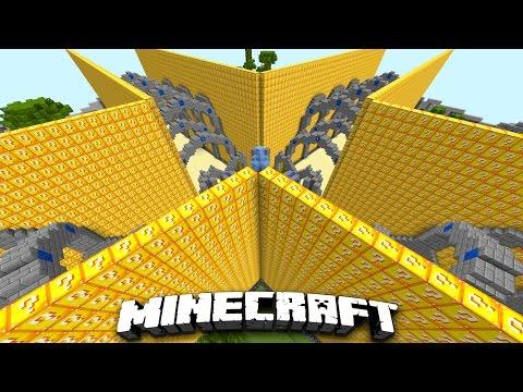 Minecraft HE'S A GOD!! | Lucky Block Walls