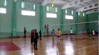 Видеоурок 5 класс ФГОС по волейболу