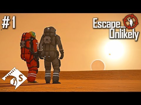 Escape From Mars... Unlikely (A Space Engineers Co Op Series)