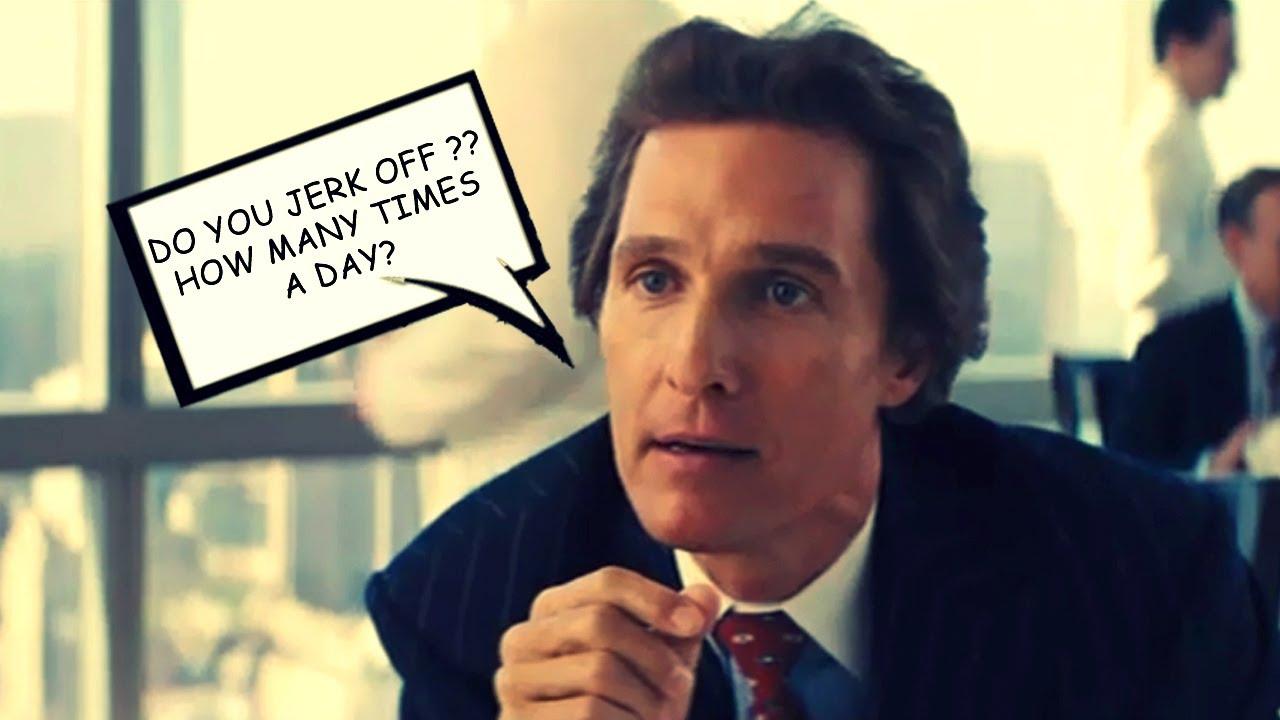 Matthew McConaughey Chest Beat | The Wolf of Wall Street ...