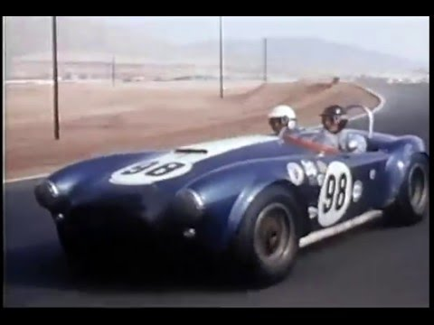 Shelby Cobra Racing Ken Miles