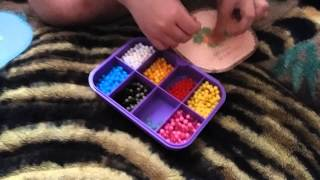 Видео урок шарики Beados.