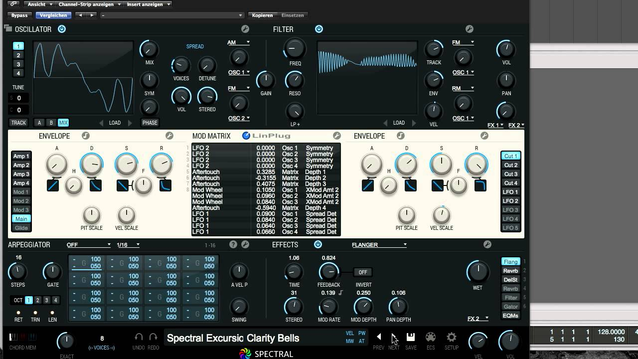 LinPlug Spectral v120 Incl Patch and Serial-R2R - Torrent