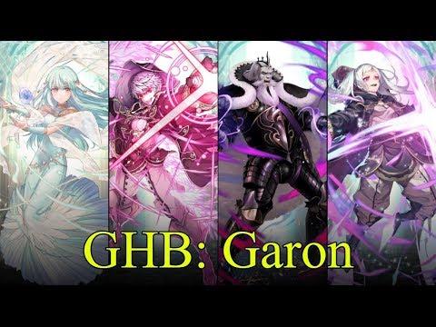 Fire Emblem Heroes - Garon, M!Grima, F!Grima, & Ninian - Garon: Grand Hero Battle [FEH GHB]
