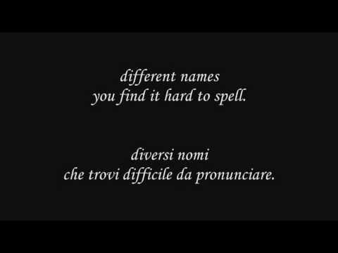 U2 & Luciano Pavarotti - Miss Sarayevo (Eng-Ita lyrics translation)
