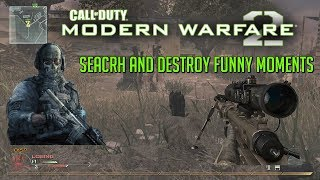 MW2 Search and Destroy Funny Moments in 2018