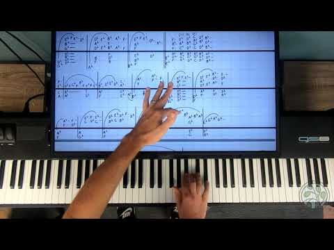 Twilight Piano Lesson - Claire De Lune Tutorial Without Reading Music