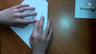 Как сделать коробочку из листа А4
