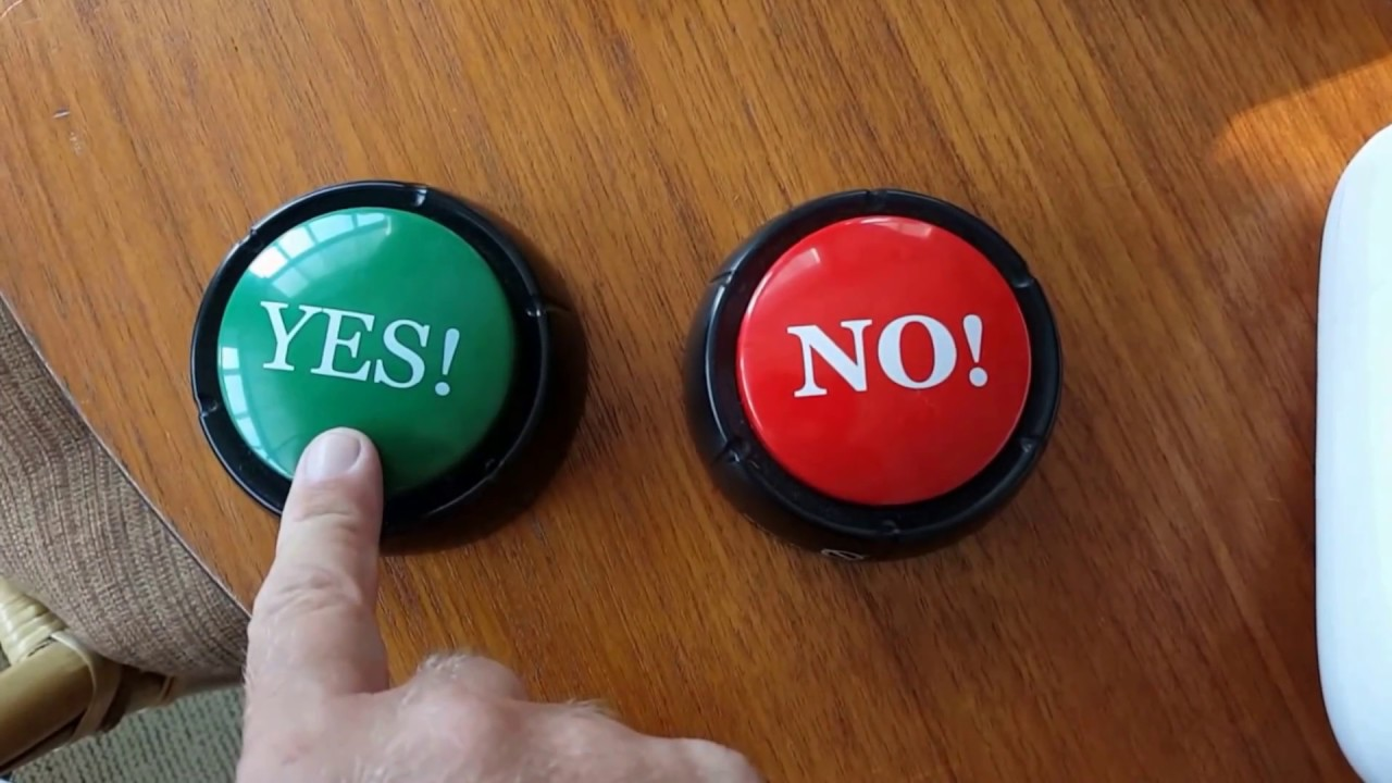 Yes and no buttons - YouTube