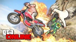 GTA 5 Online (PC) - Потный мотокросс! #131