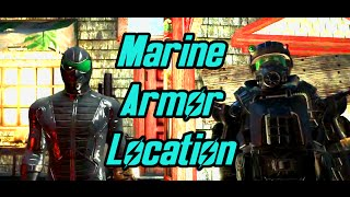 Fallout 4 Far Harbor - Find the Marine Combat Armor Shipments - Assault and Wetsuit Armor Locations