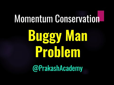 Momentum Conservation: Men exchanging buggies: Challenging problem
