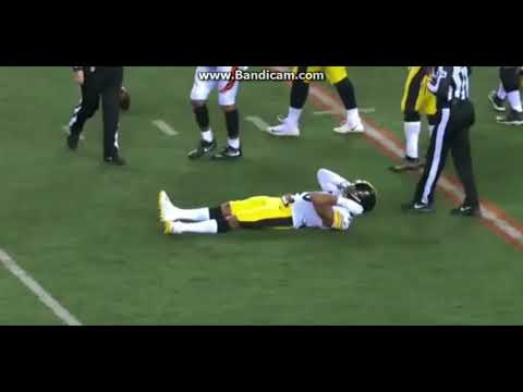 Ryan Shazier Injury >> Ryan Shazier Injury - Possibly Out for Season maybe paralyzed Steelers player no leg movement ...