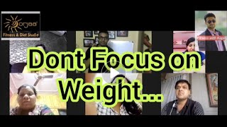 Daily Weight Fluctuation | What is Water Weight | Focus on Fat Loss | Diet Counselling