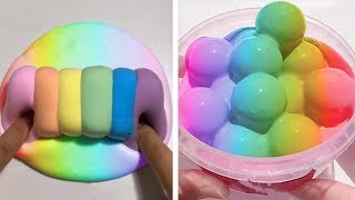 The Most Satisfying Slime ASMR Videos | Relaxing Oddly Satisfying Slime 2019 | 447