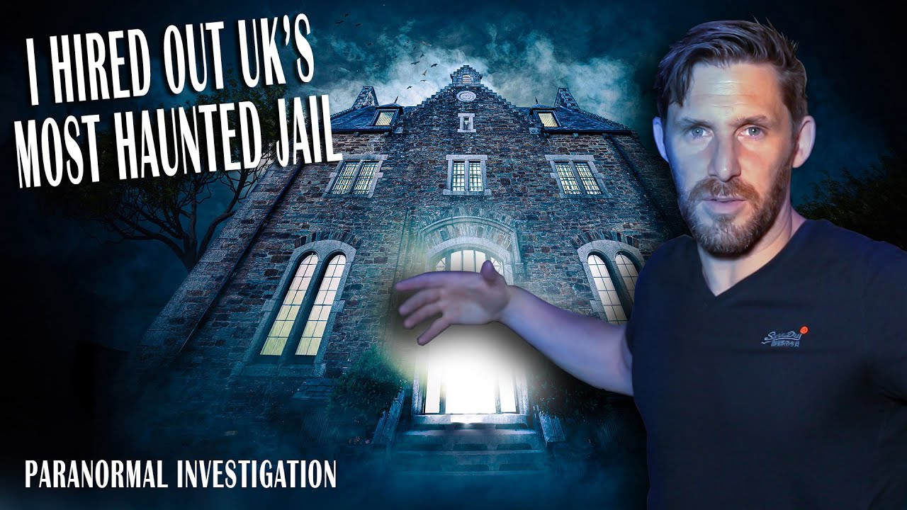 I HIRED THE MOST HAUNTED BUILDING IN ENGLAND - BODMIN JAIL GHOST HUNT