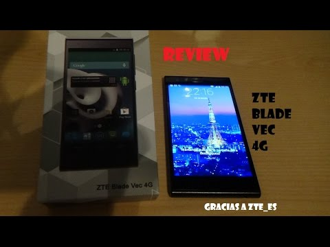 Review ZTE Blade Vec 4G Español