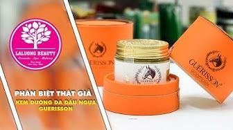 Phân biệt Thật - Giả Kem ngựa Guerisson 9 Complex Horse Oil | LaLuong Beauty