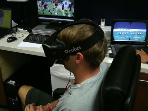 Football's Future? Training With Virtual Reality