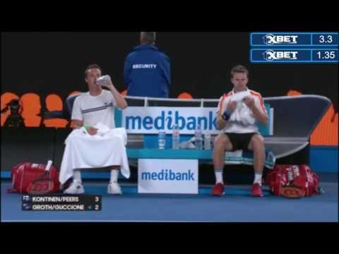 Kontinen/Peers vs Groth/Guccione - Australian Open