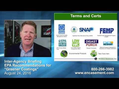 "Procurement Briefing – EPA Recommendation for ""Greener Coatings"""
