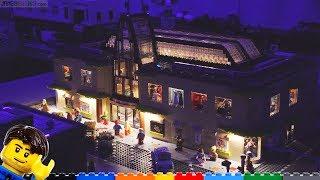 LEGO Shopping Mall gets full interior lighting! ???? LMLC #4