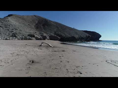 Playas de Almeria  Monsul y Genoveses