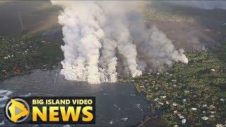 Hawaii Volcano Eruption Update - Monday Morning (June 4, 2018)