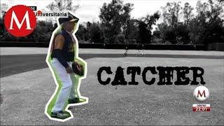 AMLO juega beisbol en Ciudad Universitaria