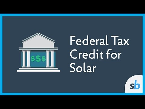 What is the Federal Tax Credit for Solar Energy?