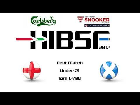 HIBSF Live Stream 2017 - U21 Josh Cooper (England B) v Liam Graham (Scotland)