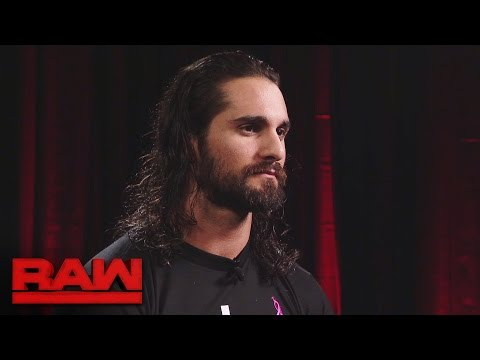 Seth Rollins gives an update on his rib injury: Raw, Oct. 3, 2016